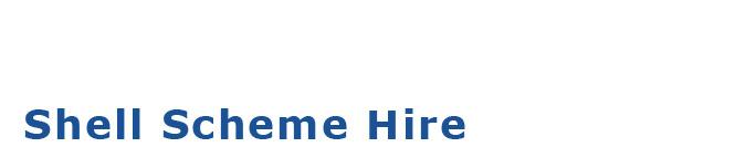 Exhibition Shell Hire : Ashcroft shell scheme hire